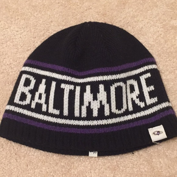 check out 72f33 829a1 official store baltimore ravens beanie 06f67 cde17